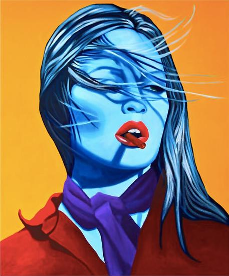 'Bardot' - Limited Edition Lithograph