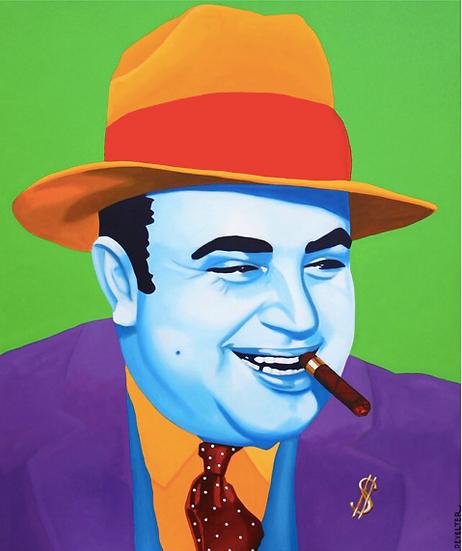 'Al Capone' - Limited Edition Lithograph