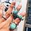 Thumbnail: Eastern Soul Aditi Ring - Turquoise