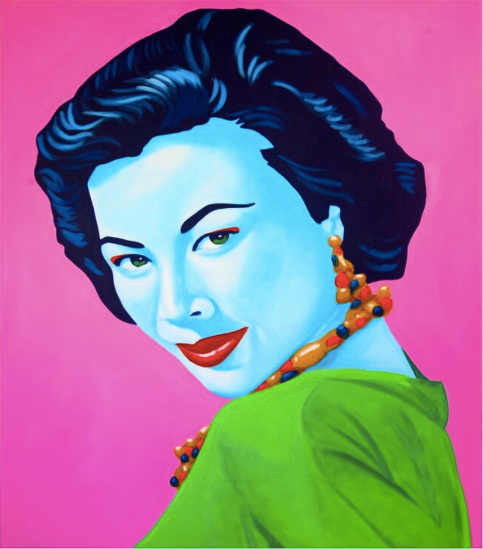 'Madame Wang' Limited Edition Lithograph