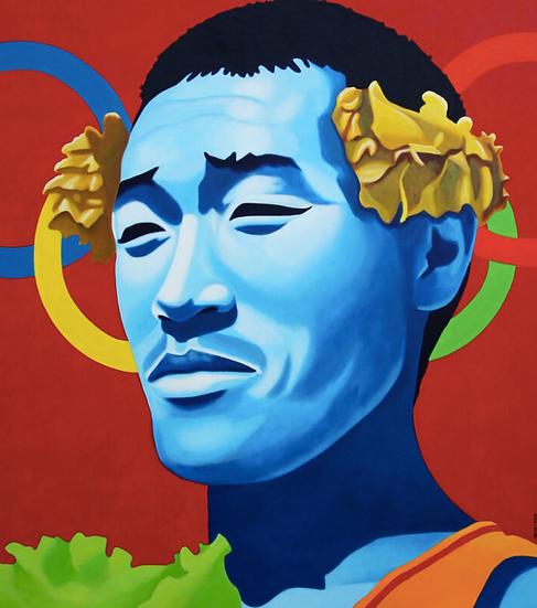 Olympics, Asian Athlete