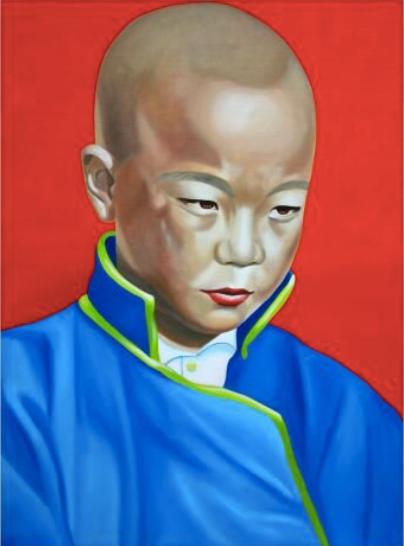 'Sakya Boy' Limited Edition Lithograph