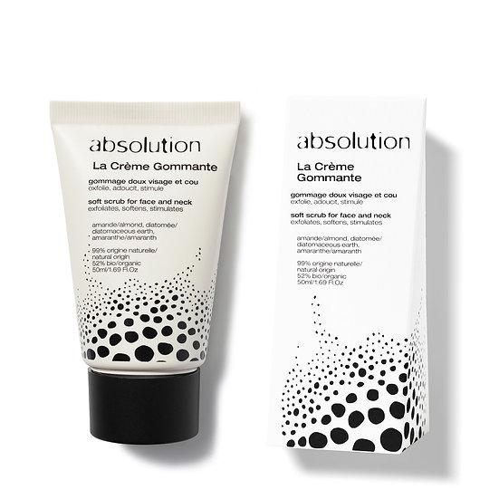 Absolution Exfoliating Face & Neck Cream | La Crème Gommante