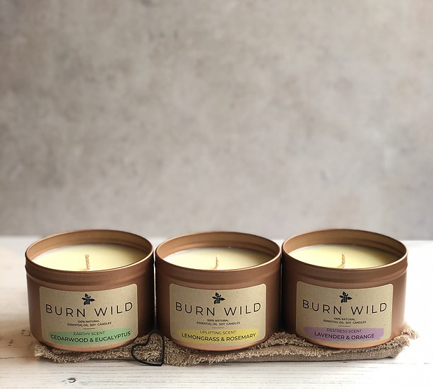 Burn Wild Bundle of 3