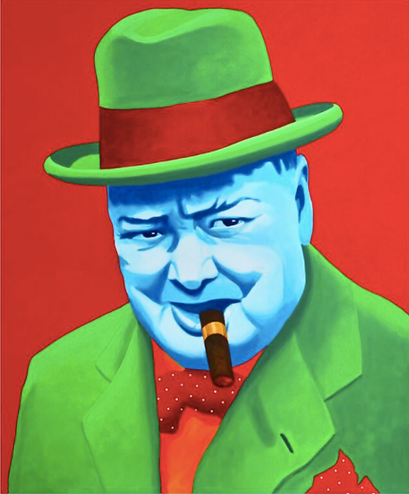 'Churchill' - Limited Edition Lithograph