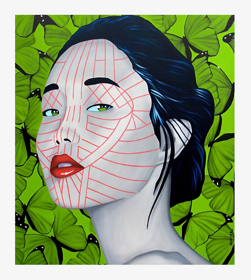 'Kokotung Chin' Limited Edition Lithograph
