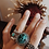 Thumbnail: Penny Ring - Turquoise