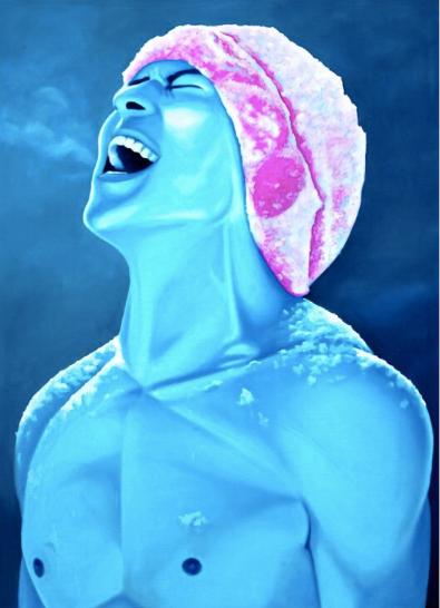 'Koryo Blue I' Limited Edition Lithograph