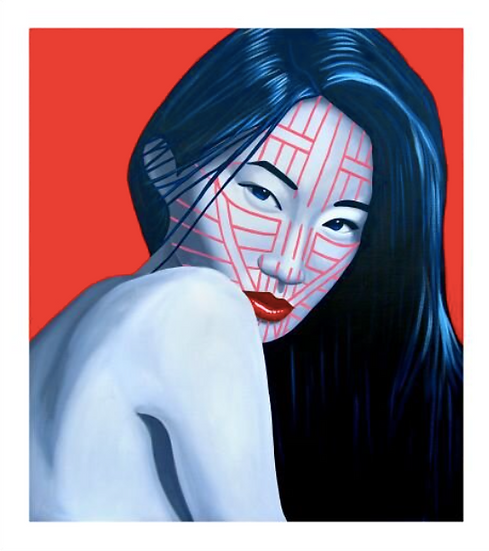 'Zahau Chin' Limited Edition Lithograph