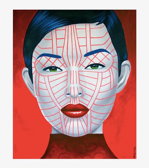 'Matupi Chin' Limited Edition Lithograph