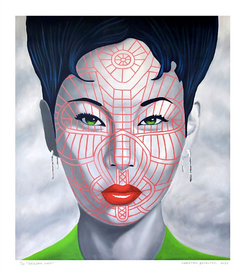 'Shinsaw Chin' Limited Edition Lithograph