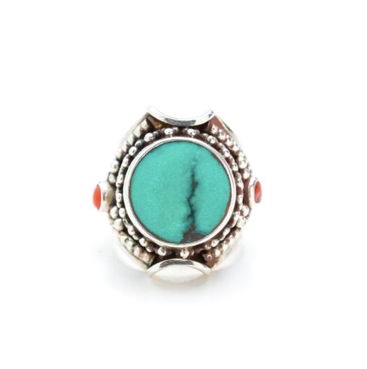 Eastern Soul Aditi Ring - Turquoise