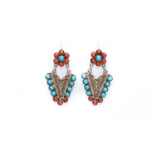 Eastern Soul Queen Bee Earrings