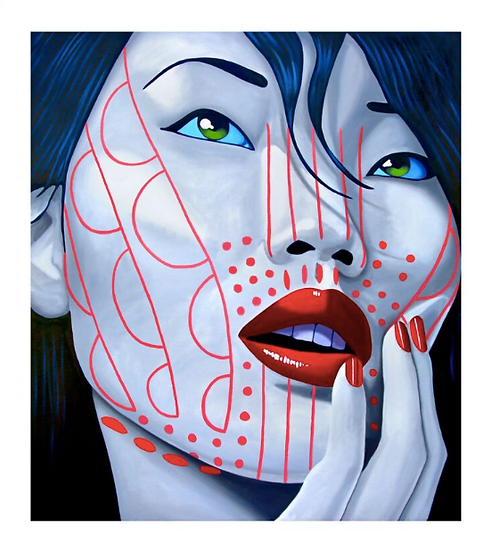 'Magway Chin' Limited Edition Lithograph