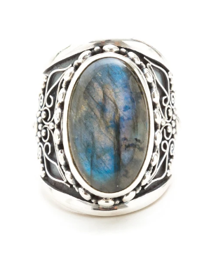 Phantom Ring - Labradorite
