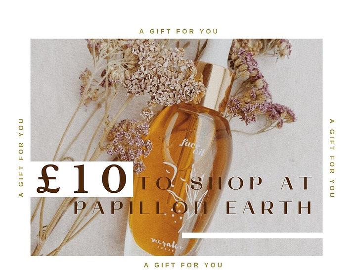 Gift card £10