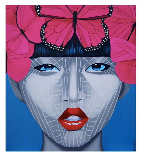 'Rongtu Chin' Limited Edition Lithograph