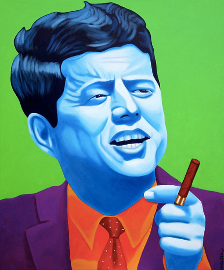 'JFK' - Limited Edition Lithograph