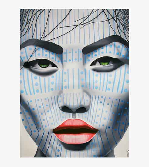 'Ngagan Chin' Limited Edition Lithograph