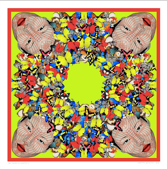 'Samee Chin Quattro I' Limited Edition Lithograph