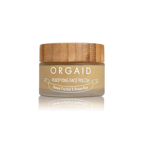 Purifying face polish | Honey crystal & brown rice