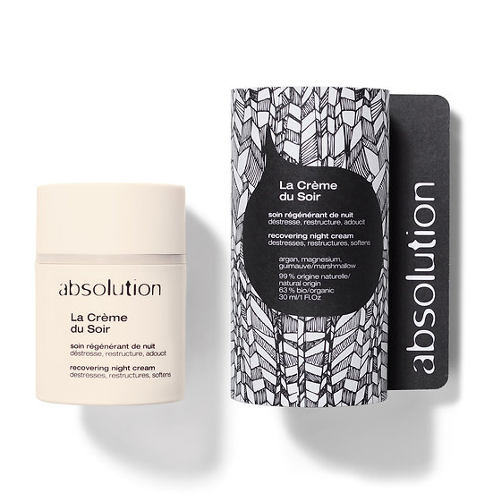 Absolution Recovering Night Cream | La Crème du Soir