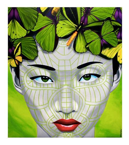 'Zomi Chin' Limited Edition Lithograph