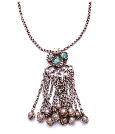 Turquoise Relic Necklace