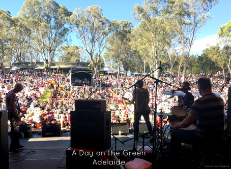 A Day on the Green Monster Tour in Adelaide.  My review from the other side...