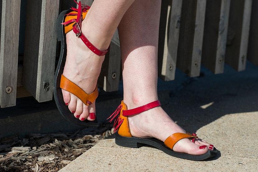 Unique, Leather Handmade Sandal, Designer Sandal