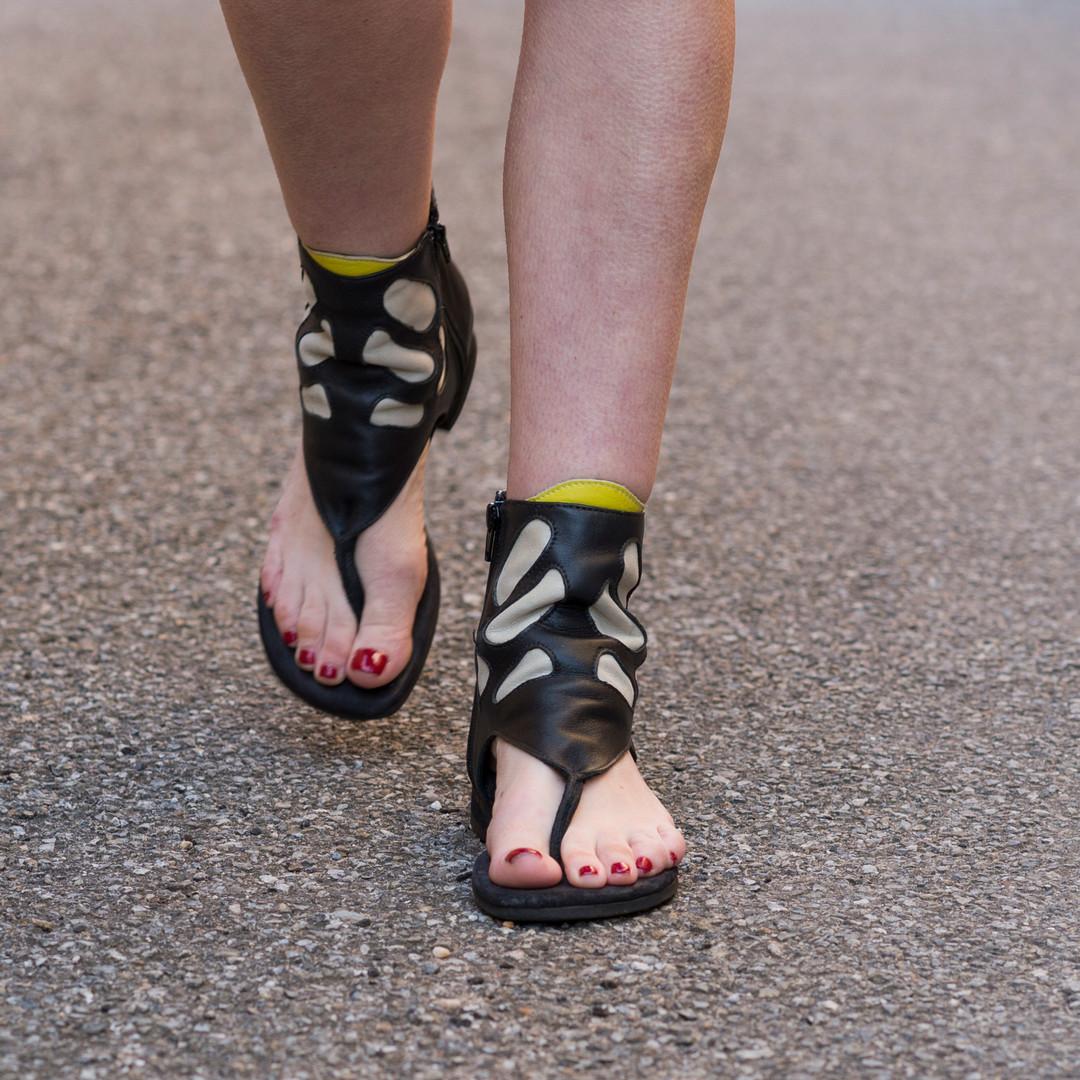 Fun & Funky Bootie Sandal
