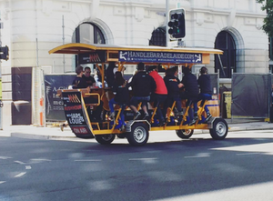The HandleBar Adelaide – Australia's First & Only Pedal Pub!