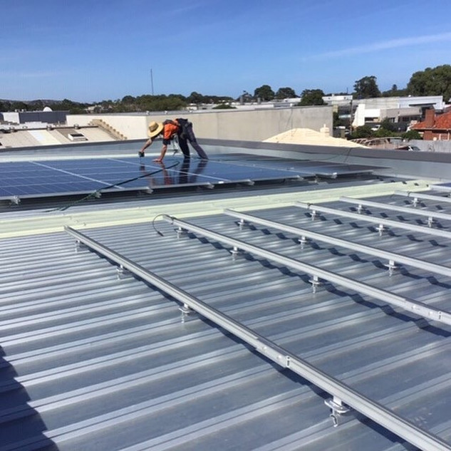 Adelaide solar installation