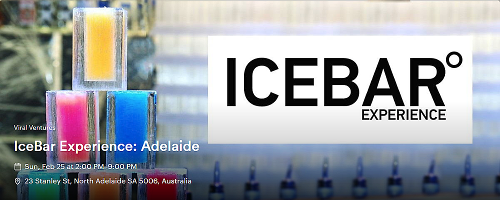 Icebar Experience Adelaide