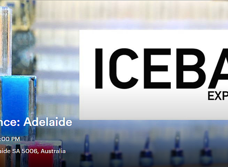 The ICEBAR EXPERIENCE Adelaide...One Day Only!