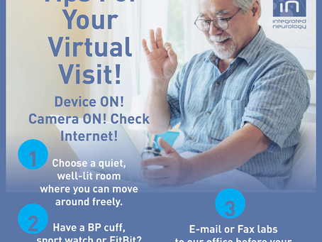 Tips For Your Virtual Visit
