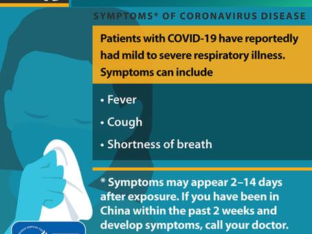Our Office Response to Coronavirus