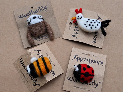 Woolbuddy Pin Friends