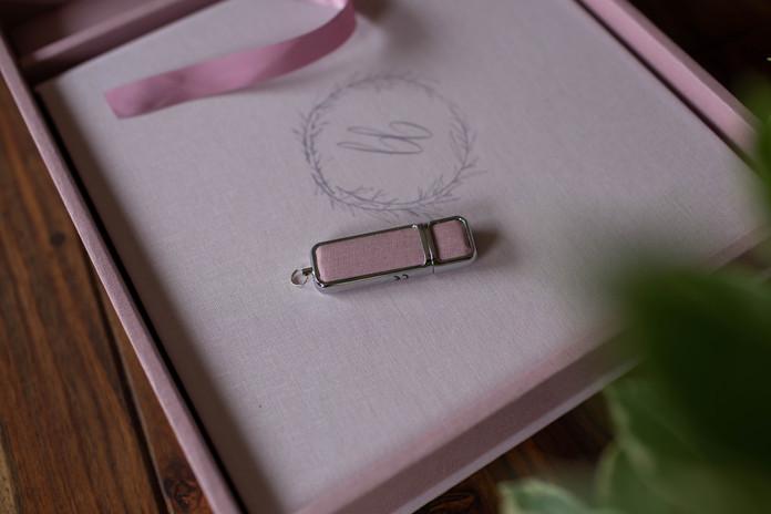 Trouwalbum met USB met alle foto's