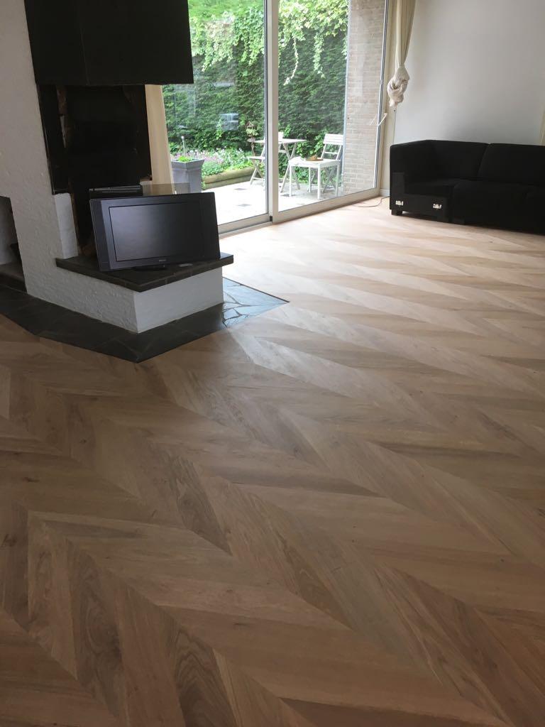 Hongaarse punt houten vloer