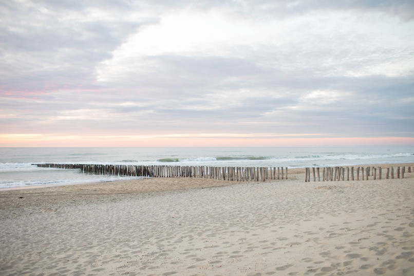 Oostkapelle strand paalhoofden