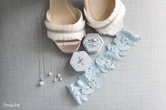 Details van de bruid