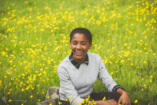 Portretfotografie - echt genieten - alles voor een echte lach