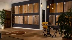 Showroom - houten vloeren