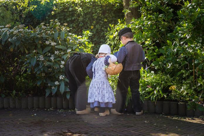 Boertjes en boerinnetje Zeeland