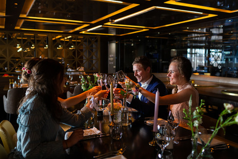 Diner bij het Arion hotel