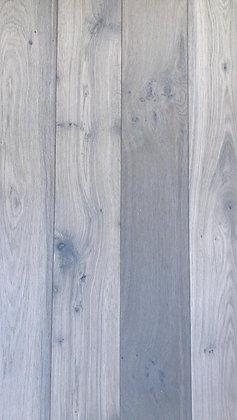 Eiken rustiek wit geolied houten vloer