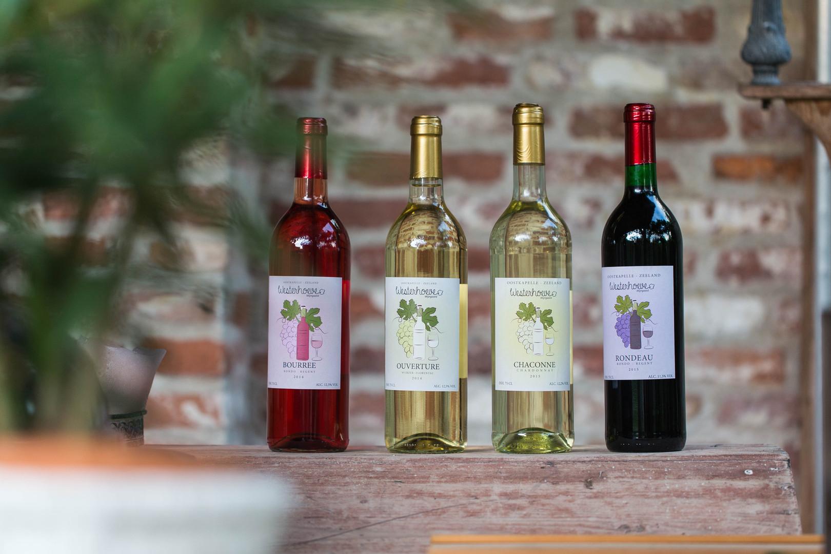 Flessen Zeeuwse Wijn