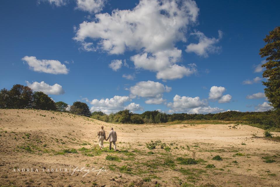 Prachtige locatie voor bruidsfoto's in Zeeland