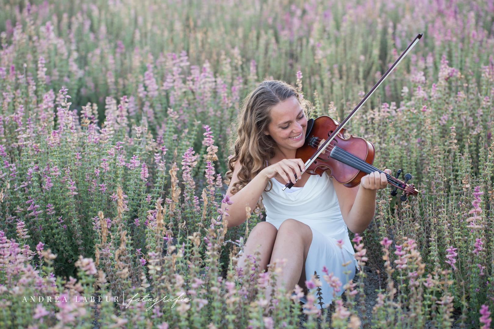 Portret fotografie - viool